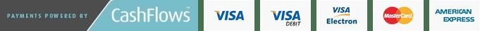 Cashflows payment logos